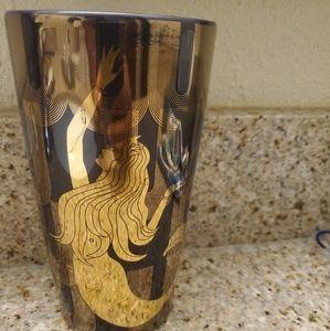 Starbucks Glass Mermaid Glass 12 OZ